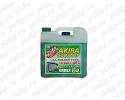 Антифриз зеленый 5л, KYK Akira coolant -40 С