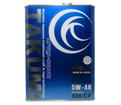 Купить Takumi Hight Quality 5W-40 SM/CF 4л
