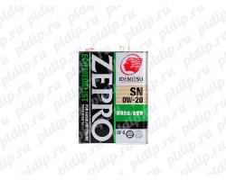 Idemitsu Zepro Eco Medalist SN/GF 5-0W-20 4L