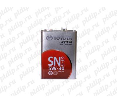 Купить Масло моторное Toyota SN 5W-30, 4л