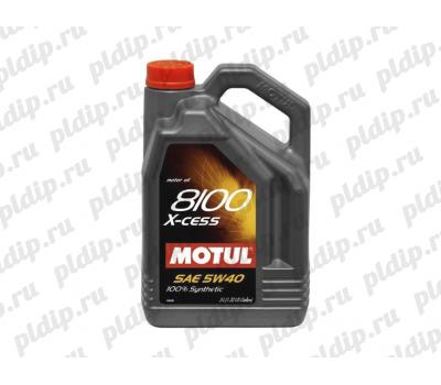 Купить Motul 8100 X-cess 5W40 5L (5л)