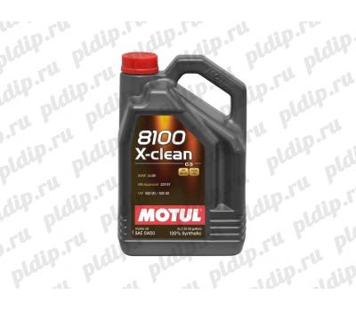 Купить Motul 8100 X-clean 5W30 5L (5л)