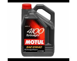 Моторное масло MOTUL 4100 Multidiesel 10W/40 для дизельных и турбодизельных, 5л