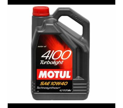 Купить Моторное масло MOTUL 4100 Multidiesel 10W/40 для дизельных и турбодизельных, 5л