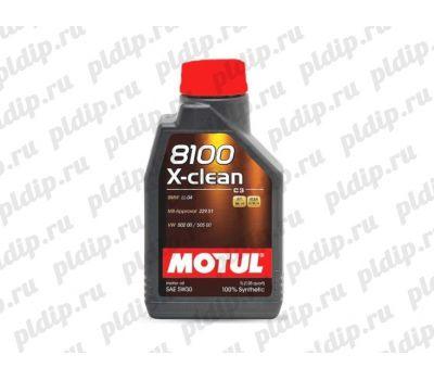 Купить Motul 8100 X-clean 5W30 1L (1л)