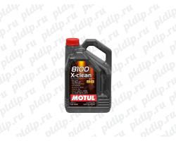 Motul 8100 X-clean 5W40 5L (5л)