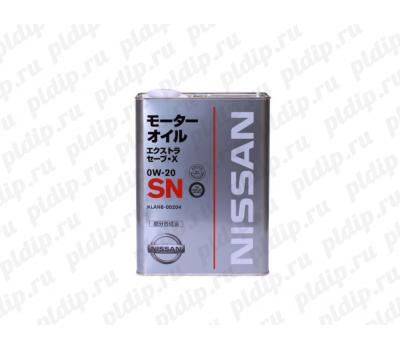 Купить Масло моторное Nissan Extra Save X SN 0W20, 4л