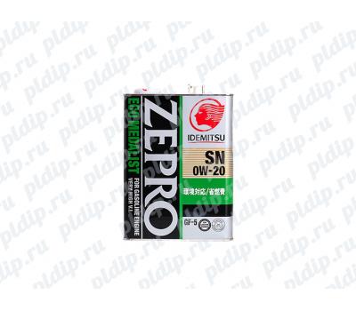 Купить Idemitsu Zepro Eco Medalist SN/GF 5-0W-20 4L