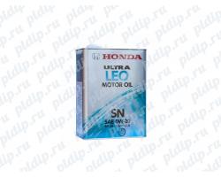 Моторное масло HONDA ULTRA LEO SN 0w-20 4 литра