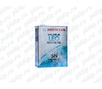 Купить Моторное масло HONDA ULTRA LEO SN 0w-20 4 литра