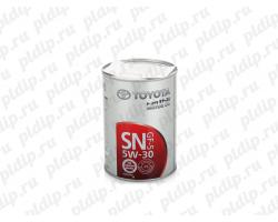 Масло моторное Toyota SN 5W-30, 1л