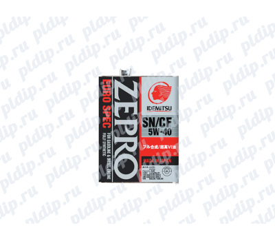 Купить Idemitsu Zepro Euro Spec F-S SN/CF 5W-40 4L