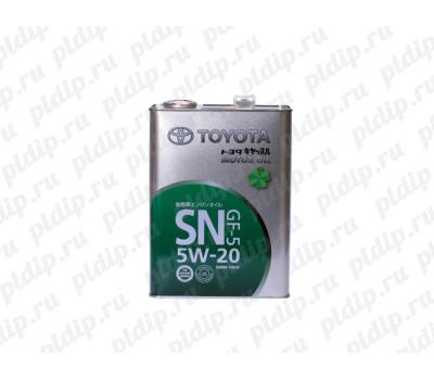 Купить Масло моторное Toyota SN 5W-20, 4л