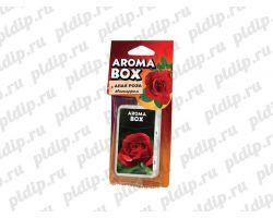 Ароматизатор подвесной Aroma-box Алая роза