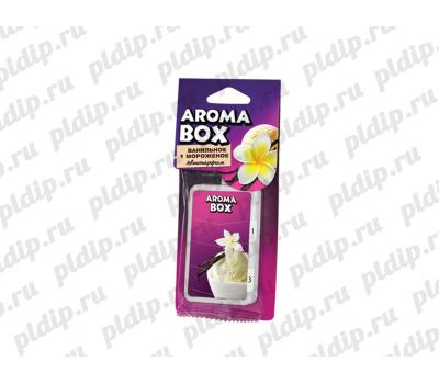 Купить Ароматизатор подвесной Aroma-box Ванильное мороженое