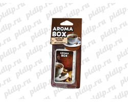 Ароматизатор подвесной Aroma-box Черный кофе