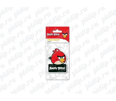 Купить Ароматизатор Angry Birds картонный подвесной RED Клубника