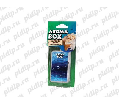 Купить Ароматизатор подвесной Aroma-box Морской бриз