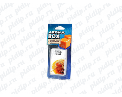 Ароматизатор подвесной Aroma-box Сливочная карамель