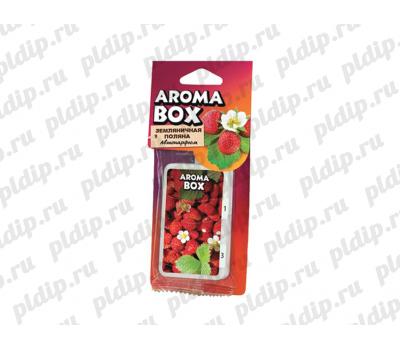 Купить Ароматизатор подвесной Aroma-box Земляничкая поляна