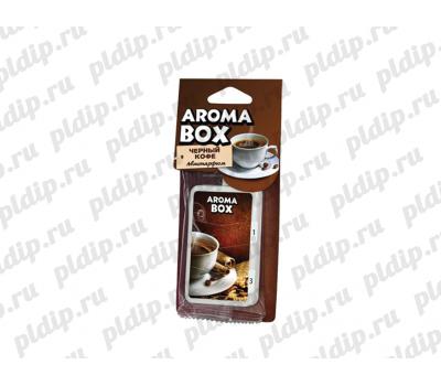 Купить Ароматизатор подвесной Aroma-box Черный кофе