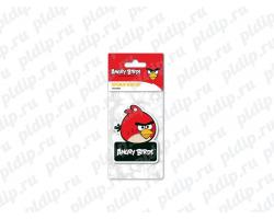 Ароматизатор Angry Birds картонный подвесной RED Клубника