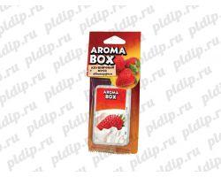 Ароматизатор подвесной Aroma-box Клубничный мусс