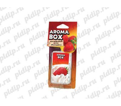 Купить Ароматизатор подвесной Aroma-box Клубничный мусс