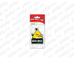 Ароматизатор Angry Birds картонный подвесной CHUCK Лимон Фреш