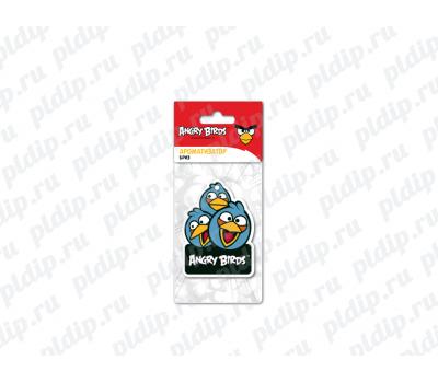 Купить Ароматизатор Angry Birds картонный подвесной BLUES Бриз