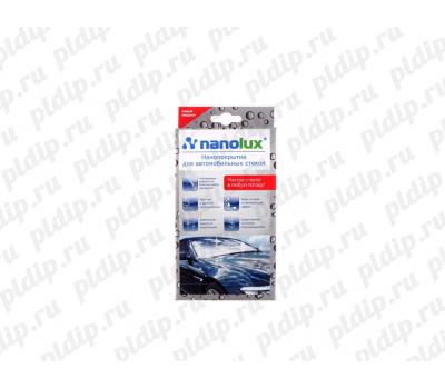 Купить NANOLUX Нанопокрытие для автомобильного cтекла (набор салфеток)