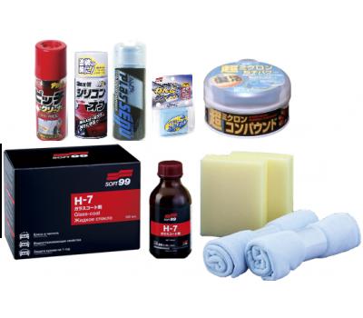 Купить Набор для нанесения жидкого стекла Soft99