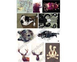 Sticker bombing | Стикербомбинг SET 12