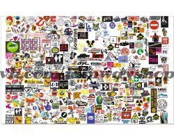 Sticker bombing | Стикербомбинг SET 5