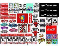Sticker bombing | Стикербомбинг SET 9