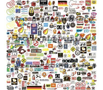 Купить Sticker bombing | Стикербомбинг SET 1