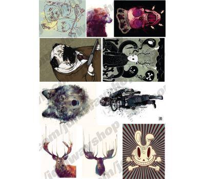 Купить Sticker bombing | Стикербомбинг SET 12