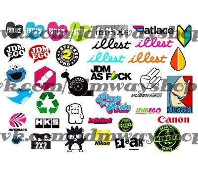 Купить Sticker bombing   Стикербомбинг SET 4