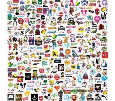 Купить Sticker bombing | Стикербомбинг SET 8