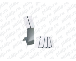 Тест-пластины для пробных выкрасок Белая 150*150*0,15