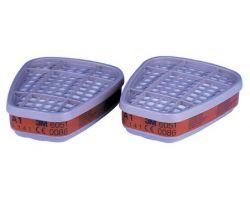 2 фильтра 3M 6051 для полумасок