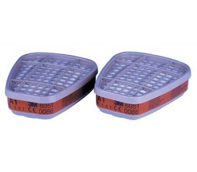 Купить 2 фильтра 3M 6051 для полумасок