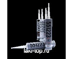 RoxelPro Многоцелевой ПУ герметик 550, чёрный, картридж 310мл
