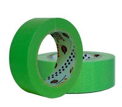 EUROCEL Маскирующая термостойкая лента 25мм*40м, зеленая