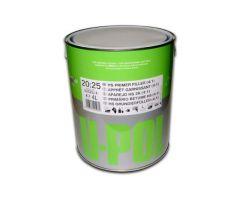 U-POL 2K-HS Толстослойный грунт 4:1, черный, 1л
