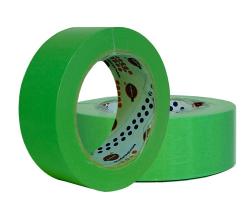 EUROCEL Маскирующая термостойкая лента 25мм*40м, зеленая1