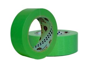 EUROCEL Маскирующая термостойкая лента 25мм40м, зеленая1
