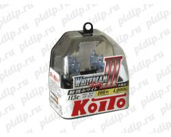 Koito Whitebeam III H3c 55 W = 100W 4000 K