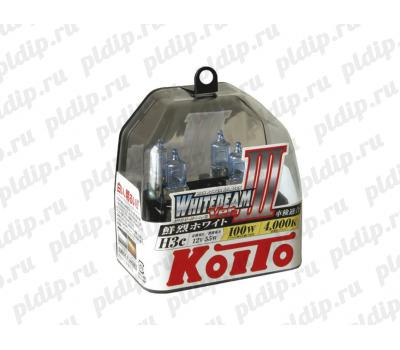 Купить Koito Whitebeam III H3c 55 W = 100W 4000 K