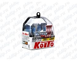 Koito Whitebeam III H11 55 W = 100W 4000 K